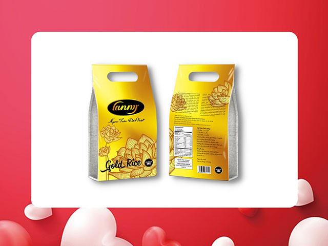 Gạo Lanny Gold ST25